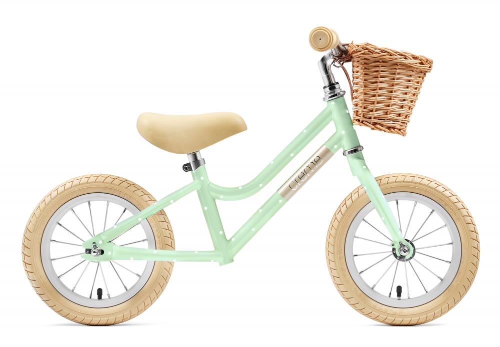 Bicicleta Equilibrio Creme Cycles Mia Pistachio Polka 12'' Go By Bike