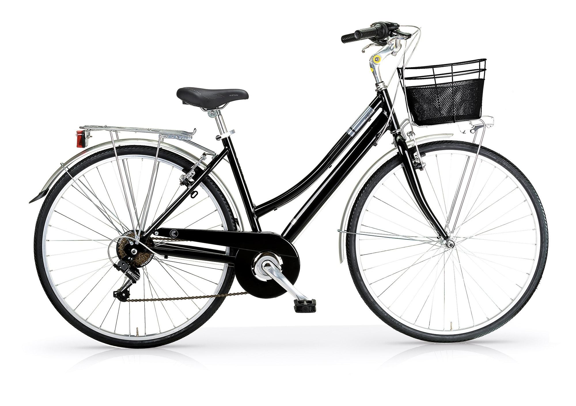 Bicicleta Cidade MBM Central Black Go By Bike