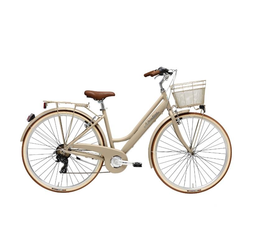 Bicicleta Clássica Adriatica City Retro Nut Go By Bike