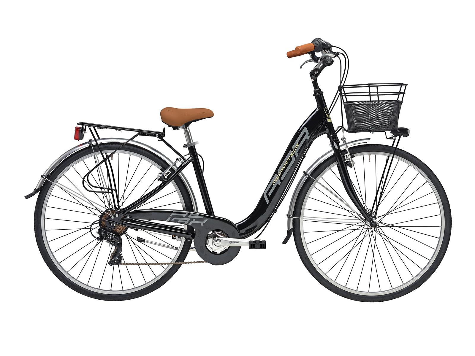Bicicleta Adriática Relax Nero Go By Bike