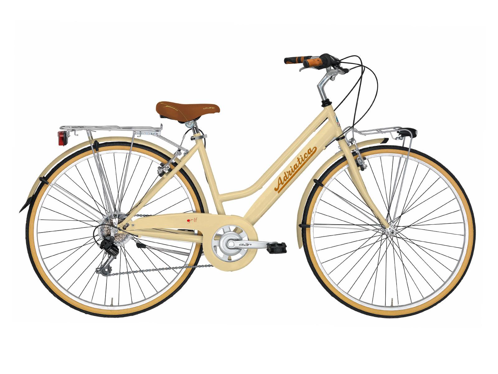 Bicicleta Adriatica Panarea Creme Go by Bike