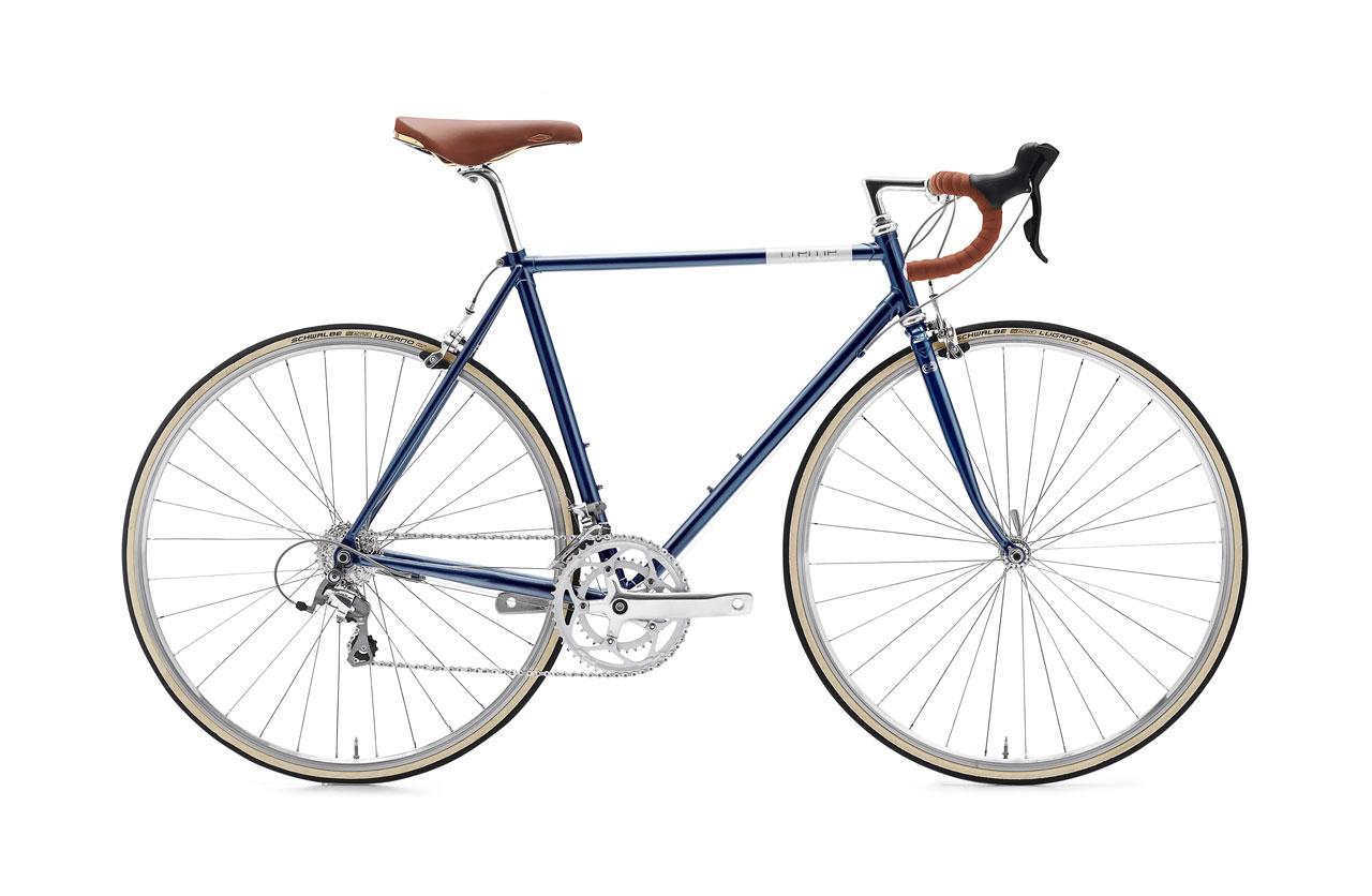 Creme Echo Doppio Deep Blue Bicicleta Urbano Go by Bike