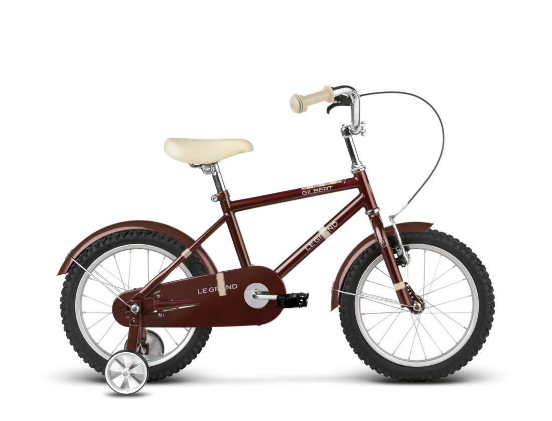 Le Grand Gilbert Brown Go by Bike