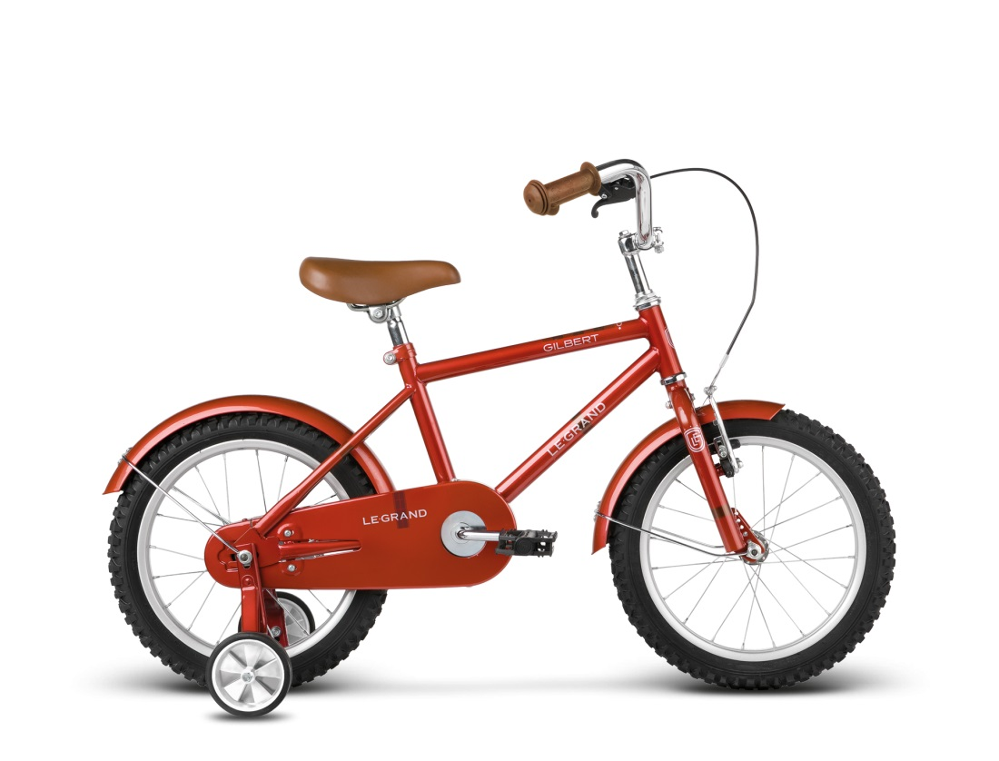 Le Grand Gilbert Red Go by Bike