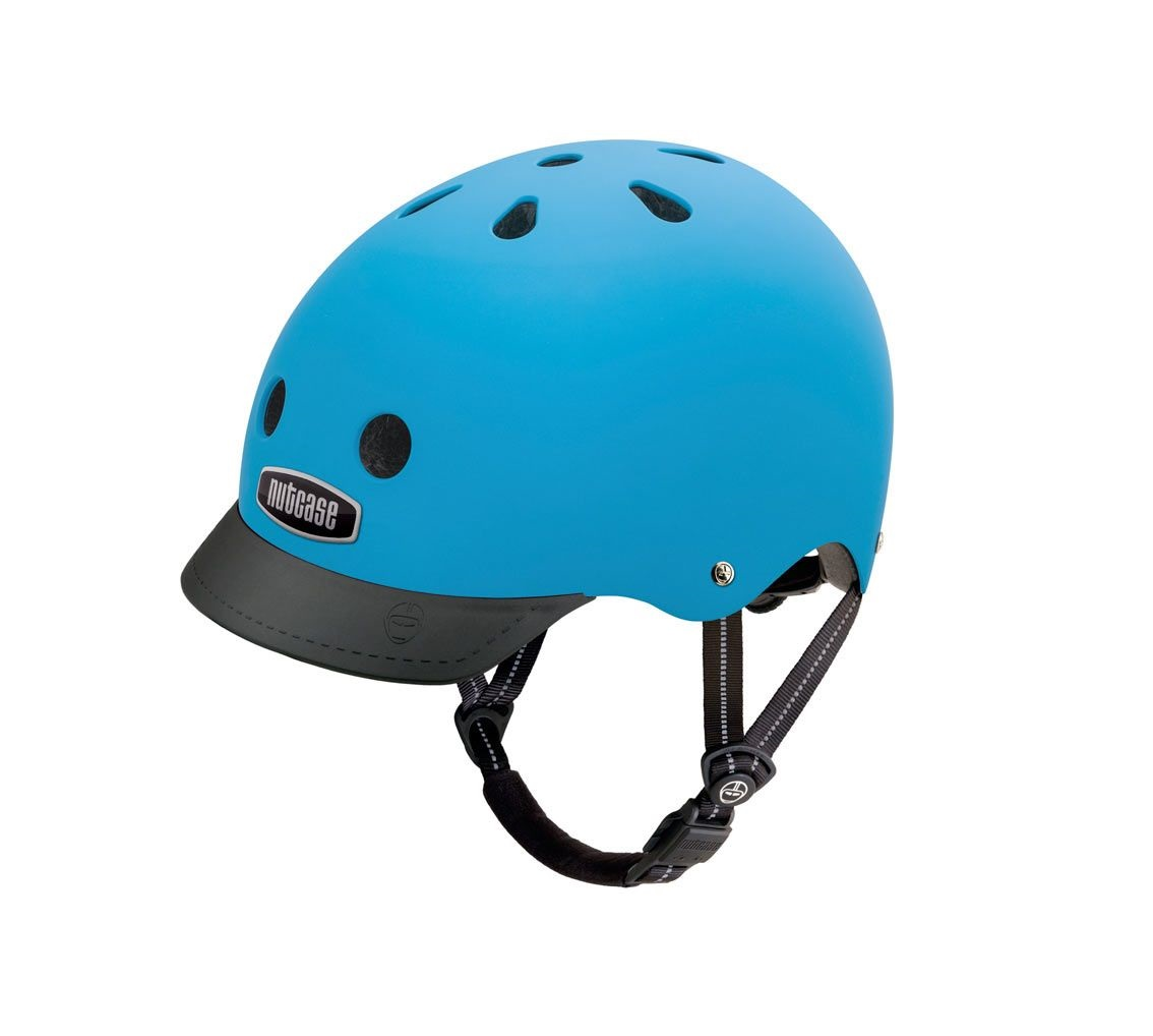 Capacete Adulto Cidade Nutcase Street Supersolid Bay Blue Matte M Go By Bike