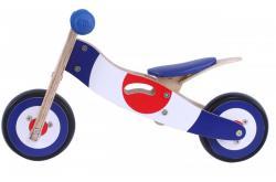 bicicleta equilibrio sem pedais madeira go by bike