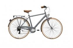 Bicicleta Clássica Urbana Cicli Adriatica Retro Man Matt Grey Go By Bike