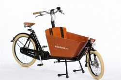 Bicicleta de Carga Bakfiets E-Cargo Bike Cruiser Short Steps Go By Bike