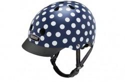 Nutcase Street Navy Dots Go By Bike
