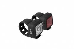 Luz Frontal e Traseira Axa Nitelina 11 Go By Bike