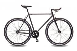 bicicleta single speed fixie foffa black matte go by bike