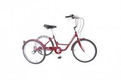 Triciclo Bicicleta Adulto Cidade Amat Go By Bike