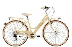 Bicicleta Clássica Adriática City Retro Lady Cream Go By Bike