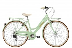 Bicicleta Clássica Adriática City Retro Lady Light Green Go By Bike