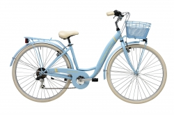 "Bicicleta Adriatica Panda Light Blue 28"" Go by Bike"