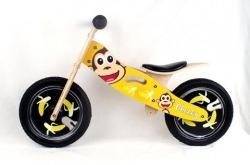 Bicicleta de Equilíbrio de Madeira Criança Kidzmotion Cheeky Go By Bike