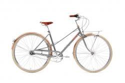 Creme Caferacer Lady Doppio Gray Rose Go by Bike