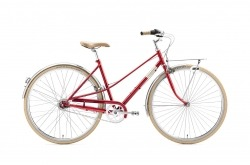 Creme Caferacer Lady Solo Red Go by Bike