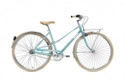 Creme Caferacer Lady Solo Turquoise Go by Bike