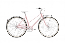 Creme Caferacer Lady Uno Pearl Pink Go by Bike
