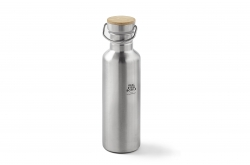 Creme Real Steel Bottle Stainless Steel Go By Bike