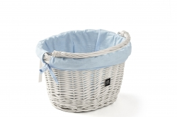 Creme Wicked Basket Small White Go By Bike
