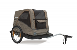 atrelado bicicleta bike trailer croozer dog go by bike
