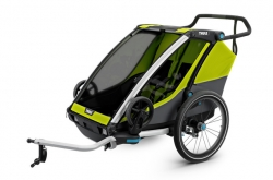 thule_chariot_cab_2_atrelado_crianca_green_go_by_bike