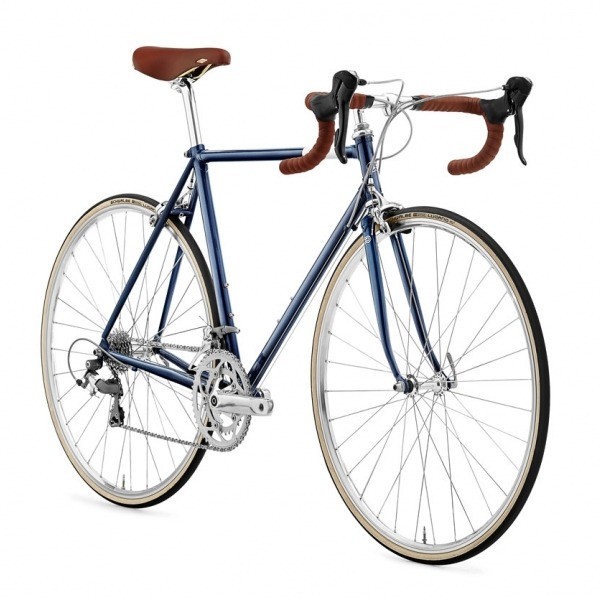 Creme Echo Doppio Deep Blue Bicicleta Urbano Go by Bike