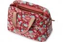 Saco alforge senhora para bicicleta basil carry all bag 18L scarlet red