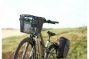 Basil Miles Double Bag Bolsa Black Go by Bike