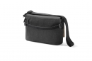 Creme Messenger Bag Charcoral Grey Go By Bike