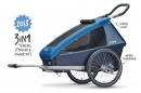Atrelado Criança Croozer Kid Plus for 1 (2018) Go By Bike