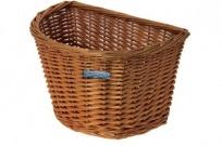 Cesto Vime Bicicleta BRN Half Moon Wicker Basket Go By Bike